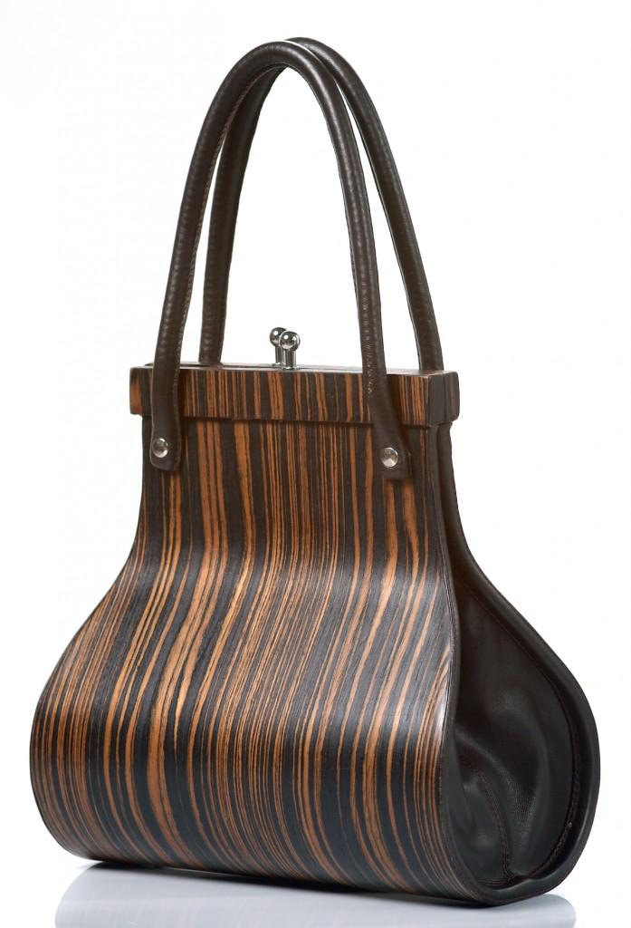 Handbag Wooditbe - Makassar dark veneer