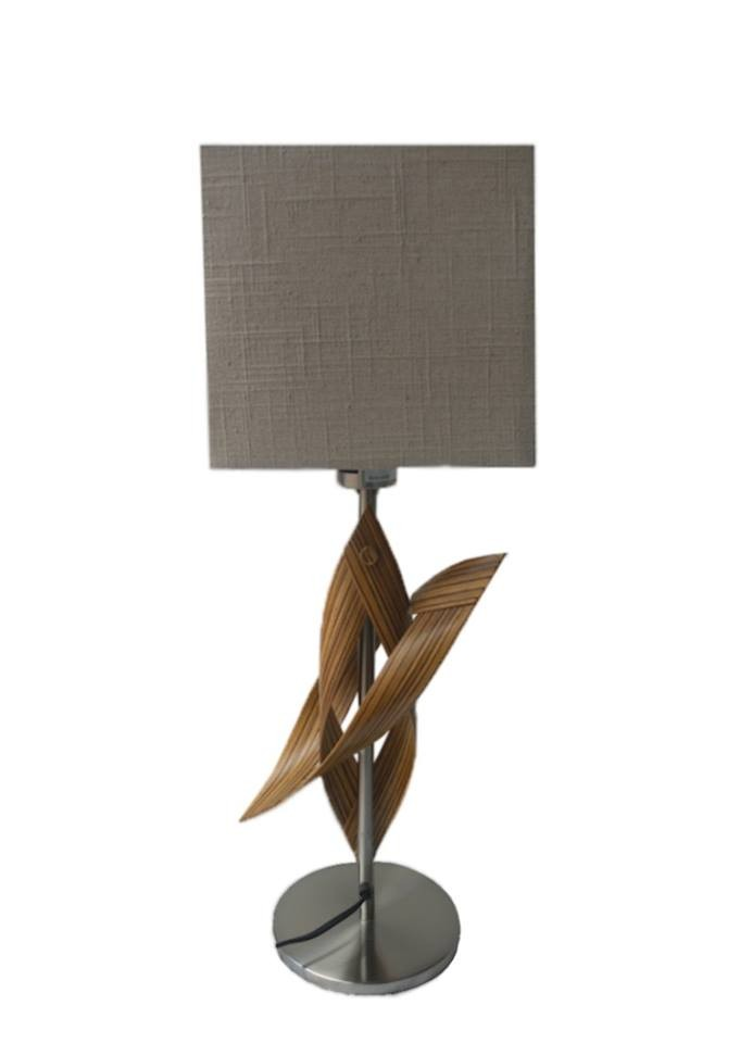 Table lamp Wooditbe- zebrano